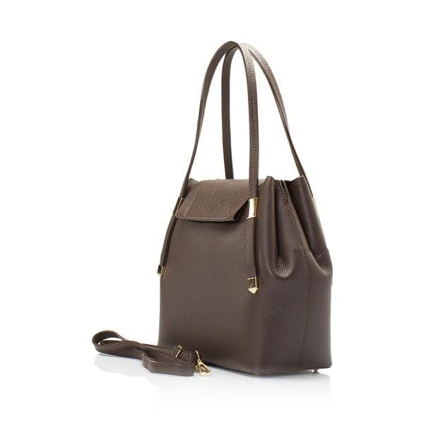Kožená kabelka Lisa Minardi 5133 Brown
