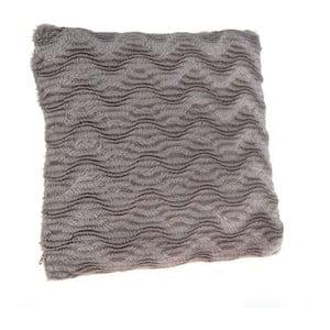 Polštář z umělé kožešiny Grey, 40x40 cm