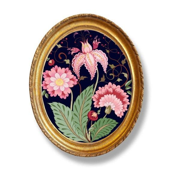 Tablou oval Velvet Atelier Flowers