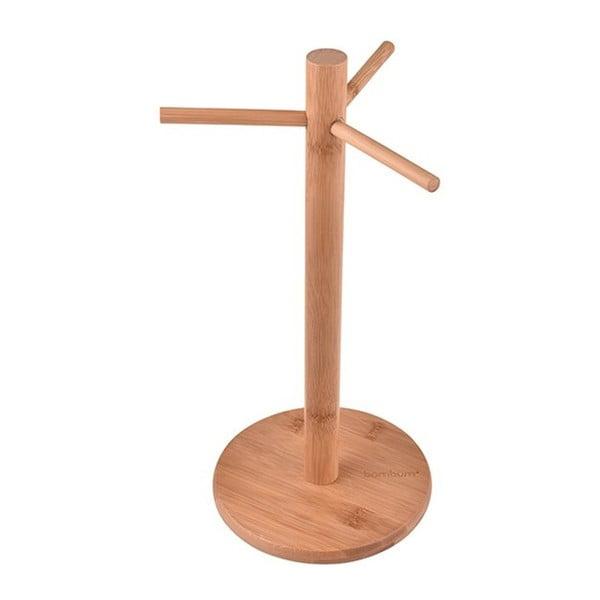 Bambusowy stojak na kubki Bambum Mosk, wys. 33 cm