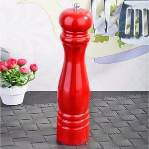 Červený bambusový mlýnek na pepř Luxury