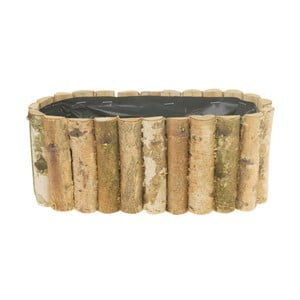 Ghiveci, Dijk Natural Collections Birch Stem Planter, 13 x 30 x 12 cm