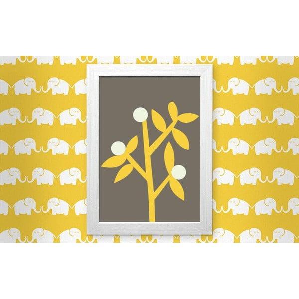 Zarámovaný obraz Elephants For Her