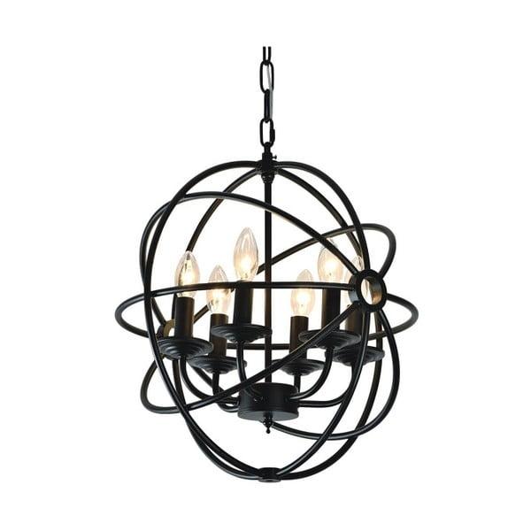 Závěsné světlo Cage 28 cm, černé
