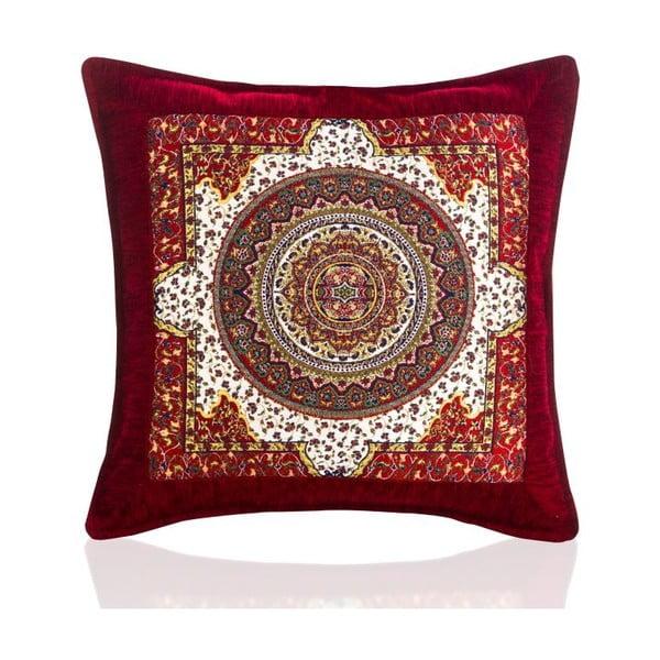 Povlak na polštář Seramik Red, 43x43 cm