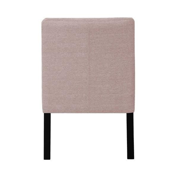 Scaun din lemn de fag Ted Lapidus Maison Freesia cu picioare negre, roz pal