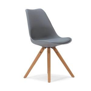 Šedá jídelní židle SOB Seattle