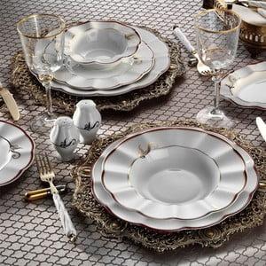 59dílná sada porcelánového nádobí Kutahya Amanda