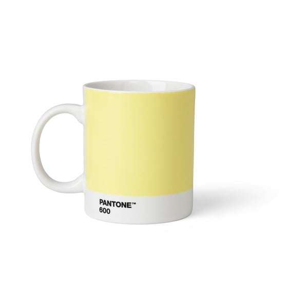 Světle žlutý hrnek Pantone, 375 ml