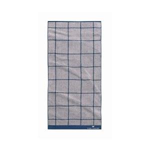 Ručník Tom Tailor Jacquard Light Grey, 50x100 cm