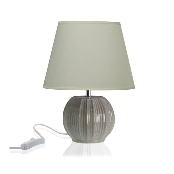 Világosszürke kerámia asztali lámpa - Versa
