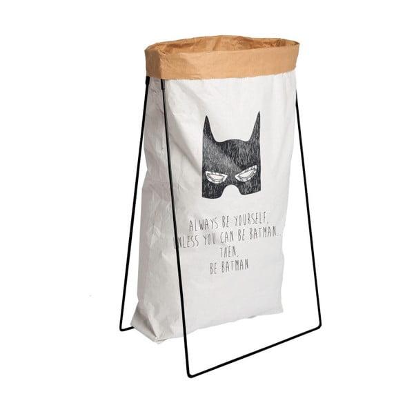 Fekete papírzsák tartó - Little Nice Things
