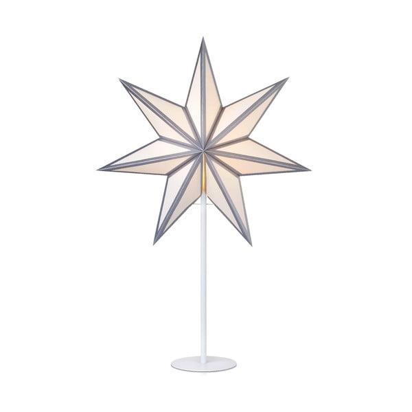 Svetelná dekorácia v striebornej farbe Markslöjd Adele, výška 65 cm