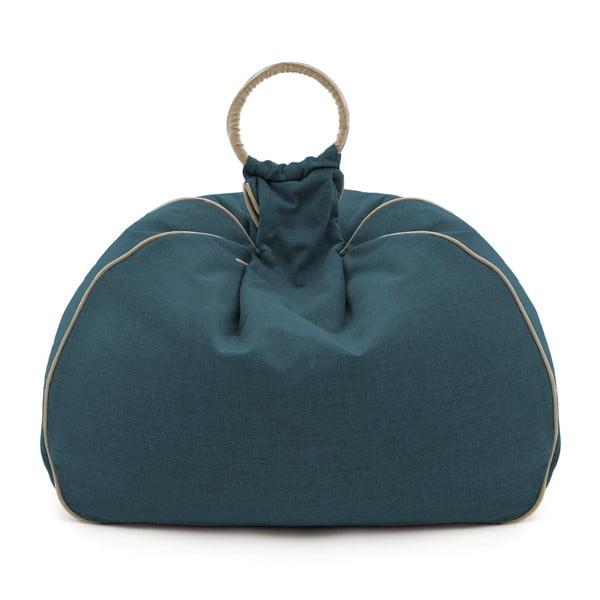 Sedací vak Vivonia Indoor Dark Turquoise/Beige