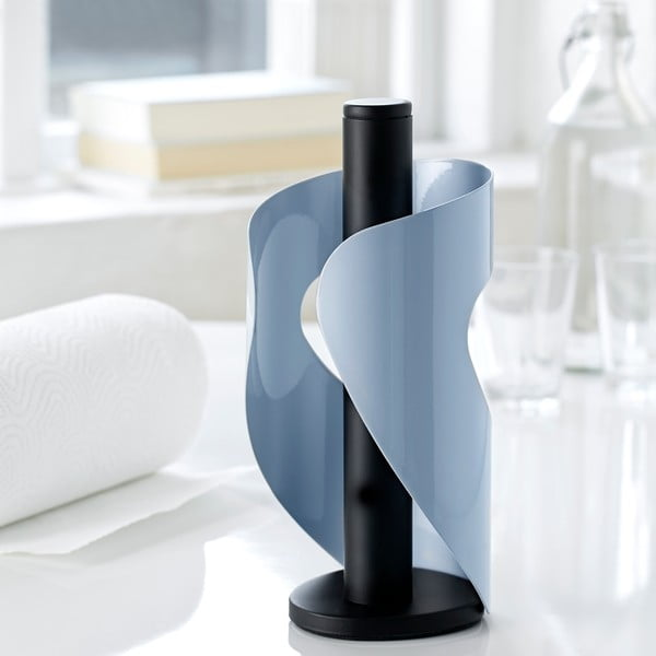 Držák na ubrousky Steel Function Pisa, modrý/černý