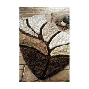 Koupelnová předložka Arus Chestnut, 60x100 cm