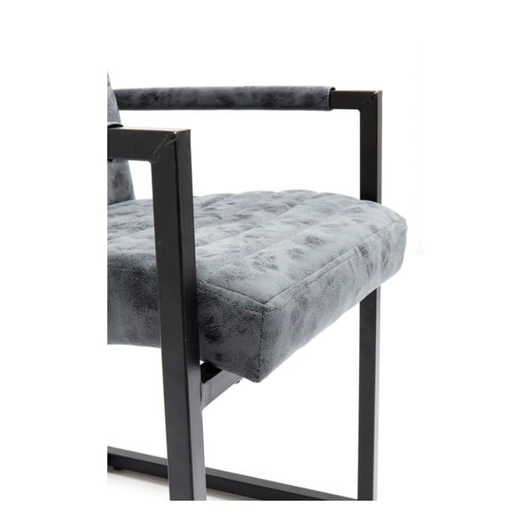 Sada 2 šedých židlí Kare Design Barone