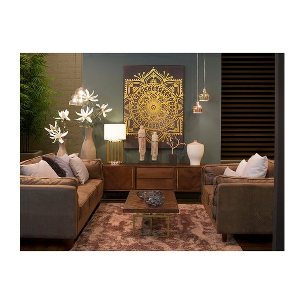 TV stolek z dýhy akáciového dřeva Santiago Pons Bruno