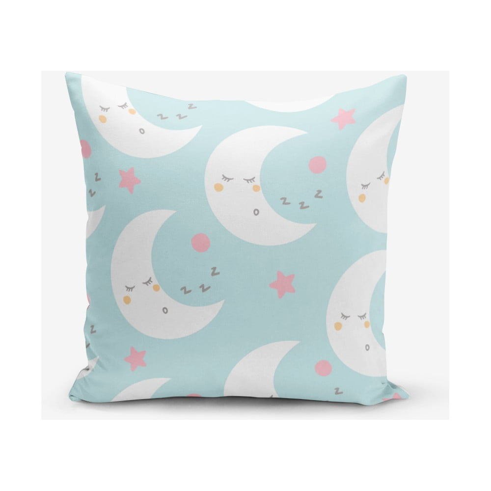 Povlak na polštář s příměsí bavlny Minimalist Cushion Covers Moon, 45 x 45 cm