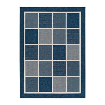 Covor pentru exterior Universal Nicol Squares, 160 x 230 cm, albastru-gri imagine
