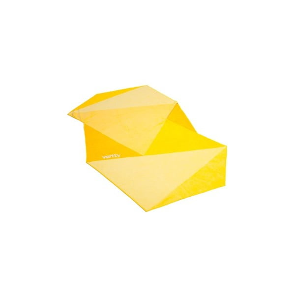 Designová plážová osuška Vertty Classic Yellow