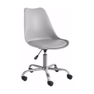 Šedá nastavitelná kancelářská židle Støraa Dan