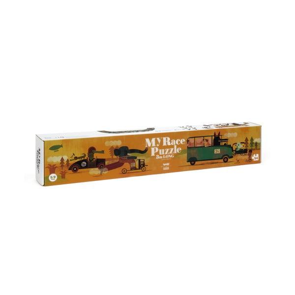 Dlhé puzzle veľká jazda Londji, 54 dielikov