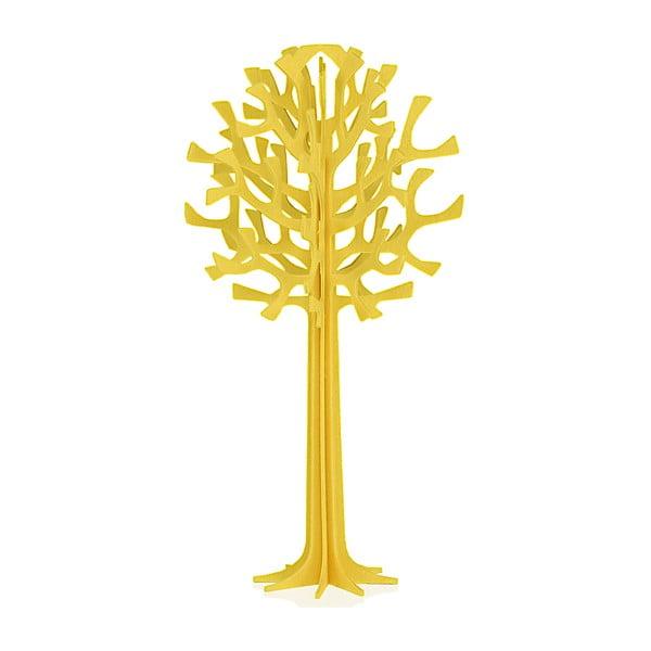 Skládací pohlednice Lovi Tree Yellow, 13.5 cm