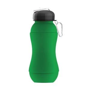 Revoluční sportovní lahev Sili-Squeeze, zelená, 700 ml