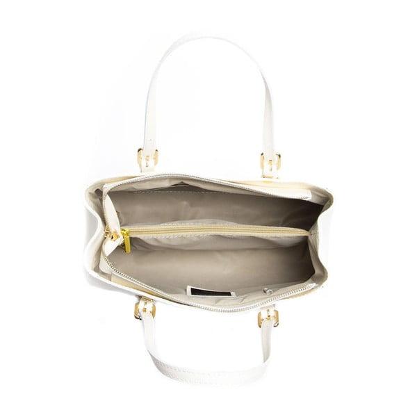Kožená kabelka Isabella Rhea 441 Beige