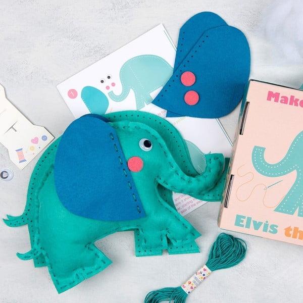 Set na ušití plyšové hračky Rex London Elvis The Elephant