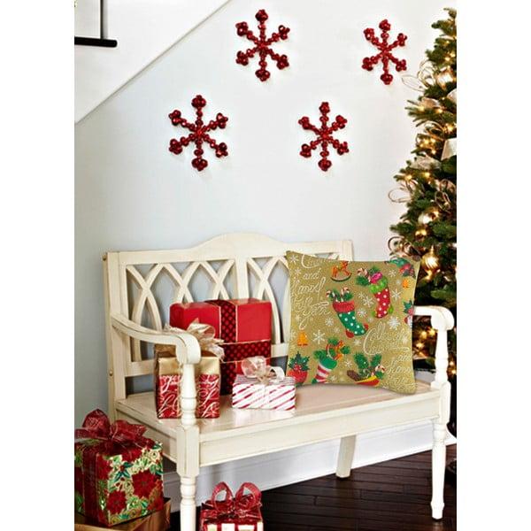 Polštář s výplní Christmas V19, 45 x 45 cm