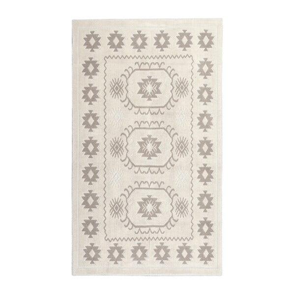 Krémový bavlněný koberec Floorist Emily, 160x230cm