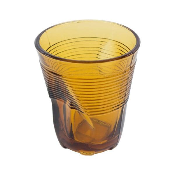 Sada 6 jantarově žlutých sklenic Kaleidos, 225ml
