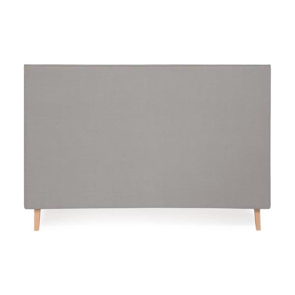 Světle šedá postel Vivonita Kent Linen, 200x160cm