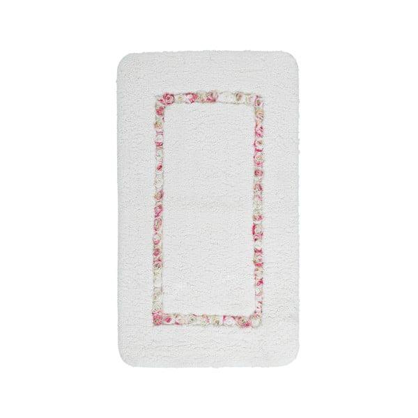 Koupelnová předložka Frenésie Cream, 65x110 cm