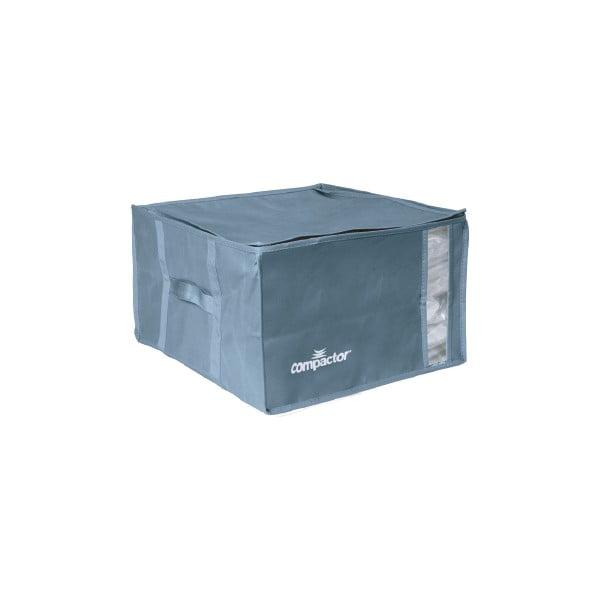 Niebieski pojemnik na ubrania Compactor XXL Blue Edition 3D Vacuum Bag, 125 l