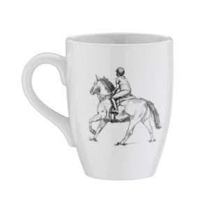 Porcelánový hrnek Horse, 330ml