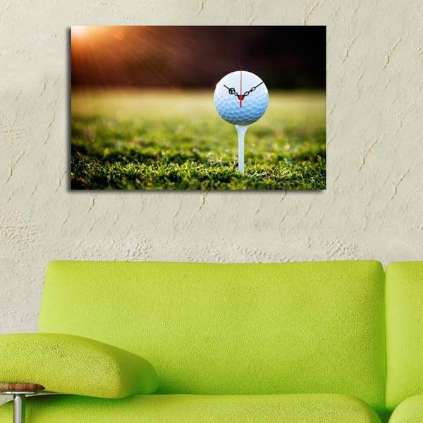 Obrazové hodiny Golf