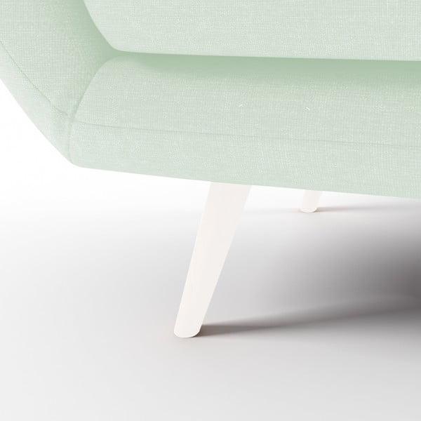 Pastelově zelená 2místná sedačka Vivonita Kennet