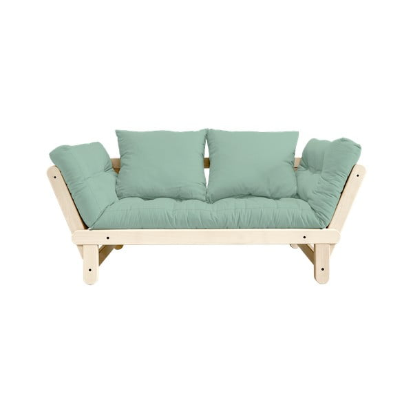 Sofa rozkładana Karup Design Beat Natural Clear/Mint