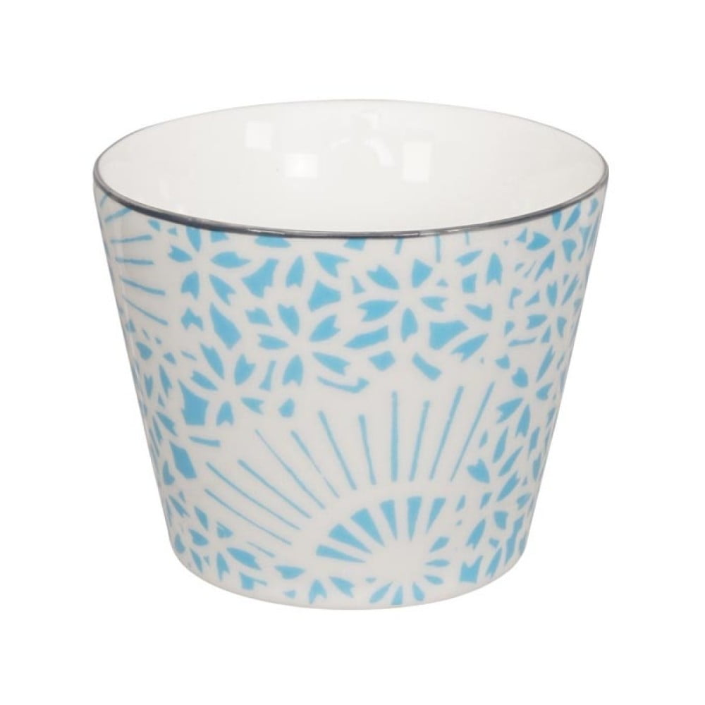 Tyrkysovo-bílý porcelánový hrnek Tokyo Design Studio Shiki, 180 ml