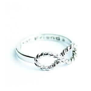 Prsten Silver Knurling Infinity