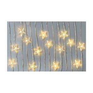 Světelný LED řetěz Talking tables Star,délka4m