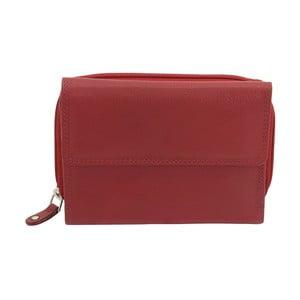 Dámská červená kožená peněženka Friedrich Lederwaren Karlien