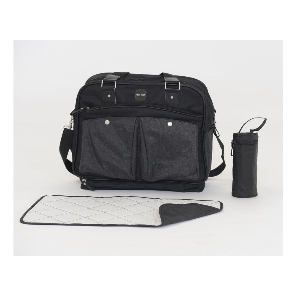 Set tašky přes rameno, přebalovací podložky a obalu na lahvičku Tanuki Mummi Bag Duro