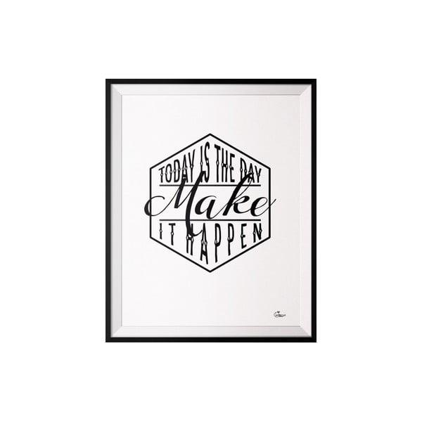 Plakát Make, 40x50 cm