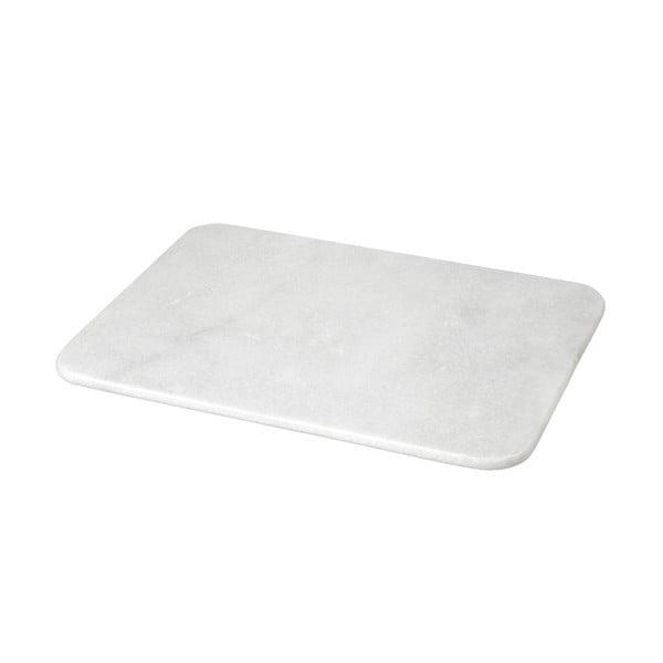Prkénko z bílého mramoru, 1,2x30x40 cm