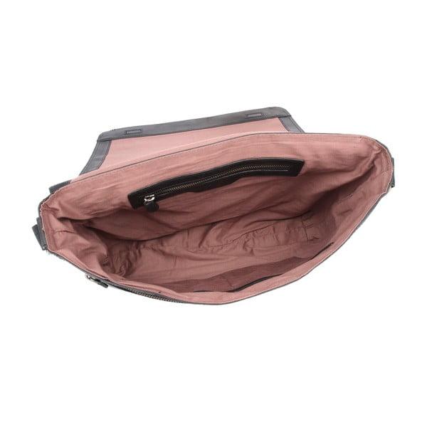 Kožená taška Croft Raven