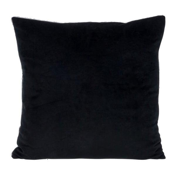 Polštář Check Black, 45x45 cm